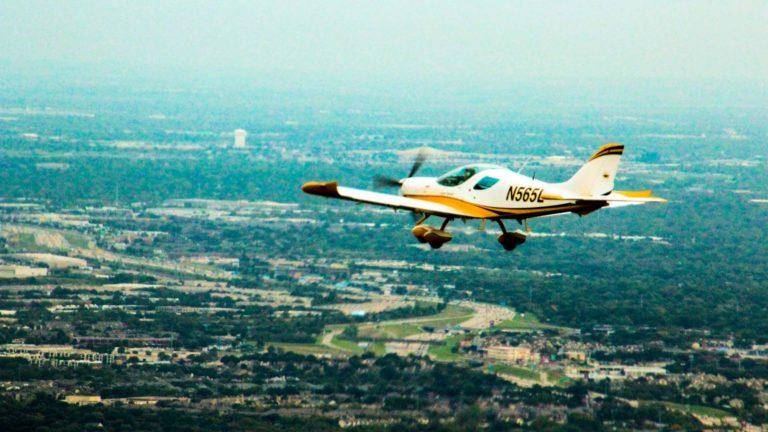 sportcruiser in the air