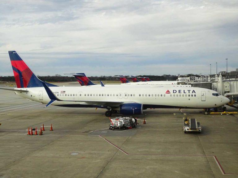 Delta Air Lines pilot