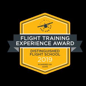 2019 Flight Training Experience Award
