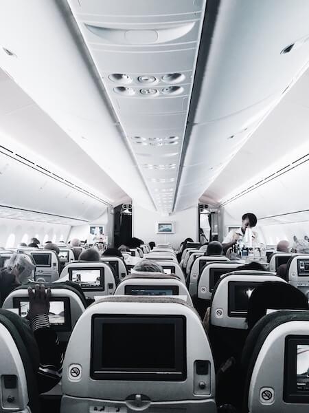 Inside airline